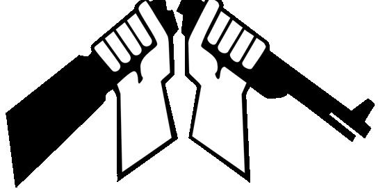 Aseistakieltäytyjäliiton katkaistu kivääri