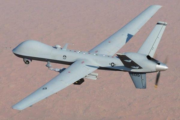 Havaintokuva Reaper Dronesta.
